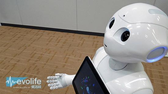 "Softbank在日本发售智能机器人""Peper"""