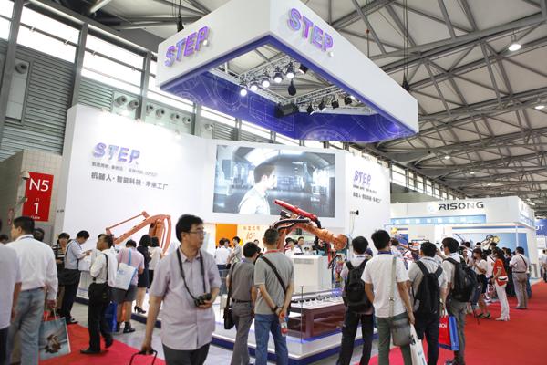 2015中国国际机器人展在上海国家会展中心闭幕