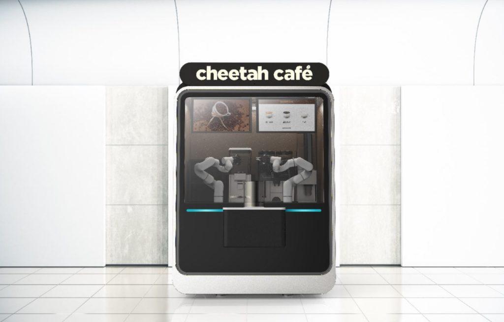 无人值守咖啡店——豹咖啡